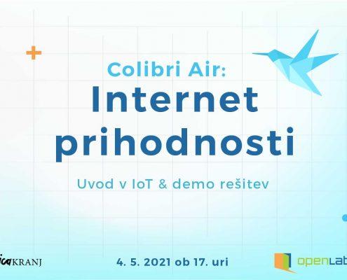 Banner za delavnico Internet prihodnosti